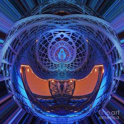 Photograph - Spirograph Planet by Agusti Pardo Rossello
