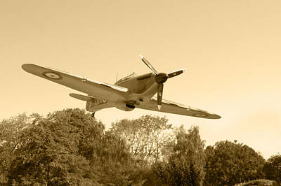 Photograph - Spitfire by Chris Day