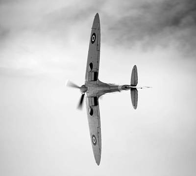 Photograph - Spitfire. by Ian Merton