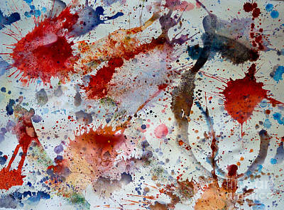 Splash Art Print by Bill Davis