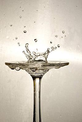 Splash Photograph - Splash by David Paul Murray