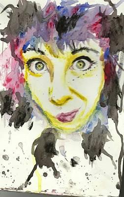 Splash Art Print by Eliza Shoop