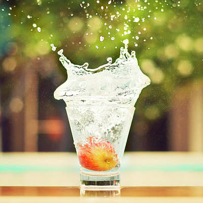 Healthy Eating Photograph - Splash! by Elvira Boix Photography