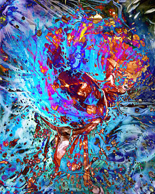 Digital Art - Splash by Francesa Miller