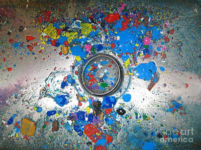 Photograph - Splash by Judy Via-Wolff