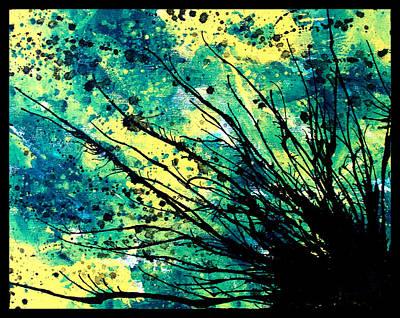 Tree Roots Painting - Splatter Roots 01 by Kalie Hoodhood