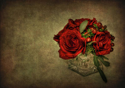 Roses Royalty-Free and Rights-Managed Images - Splendor by Evelina Kremsdorf