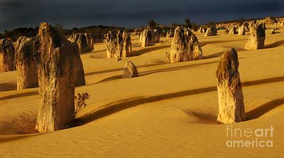 Photograph - Australia Nambung Desert 4 by Bob Christopher