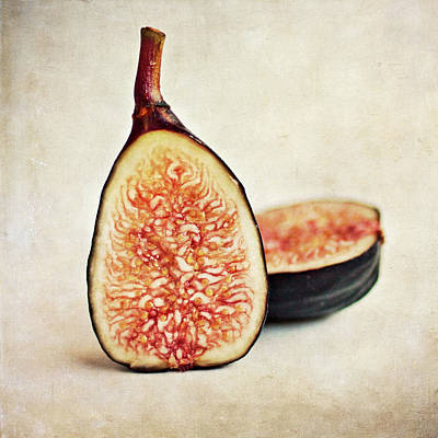 Split Fresh Figs Art Print