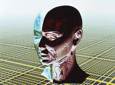 Split Personality Art Print by Laguna Design