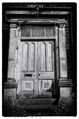 Old Door Photograph - Spooky Door  by Peter Aitchison