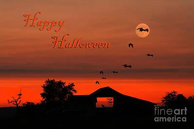 Spooky Night Art Print
