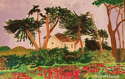 Spooner's Cove Art Print