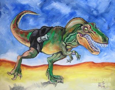 Sportosaurus Original by Ellen Marcus