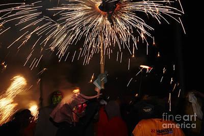 Photograph - Spray Of Sparks by Agusti Pardo Rossello