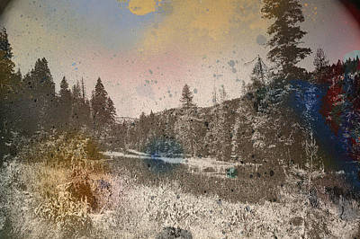 Sprayscape Art Print by Stephen Sly