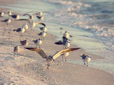 Spread Your Wings Print by Kim Hojnacki