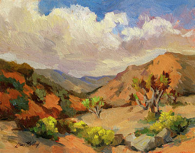 Joshua Painting - Spring At Joshua Tree by Diane McClary