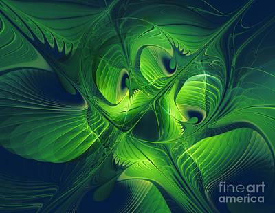 Awakening Digital Art - Spring Awakening by Jutta Maria Pusl