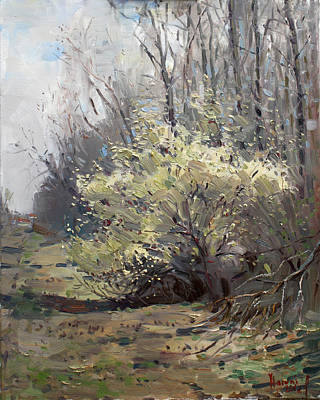 Apartment Painting - Spring Blossom  by Ylli Haruni