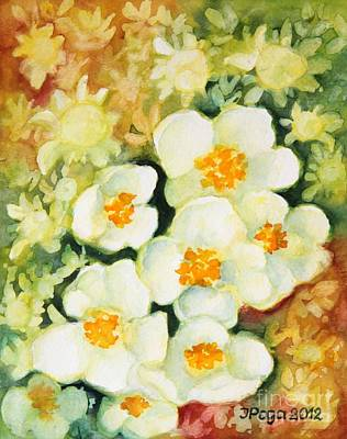 Painting - Spring Blossoms by Inese Poga