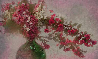 Spring Bouquet1 Art Print by Jeff Burgess