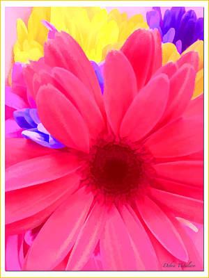 Spring Burst Colors Art Print