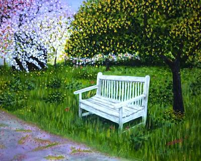 Spring Art Print by Gizelle Perez