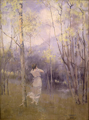 Ghostly Painting - Spring In Moniaive by James Paterson