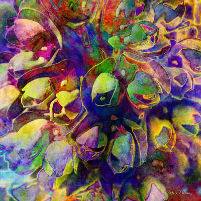 Contemporary Abstract Digital Art - Spring In My Mind by Barbara Berney