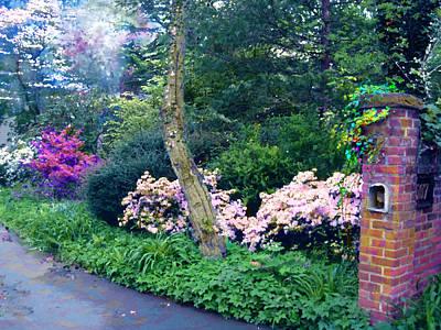 Photograph - Spring In The Garden by Viola El