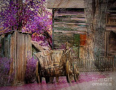 Art Print featuring the digital art Spring  by Irina Hays