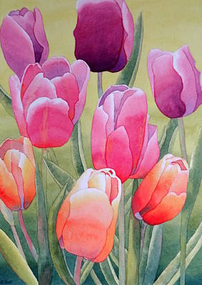 Art Print featuring the painting Spring by Laurel Best