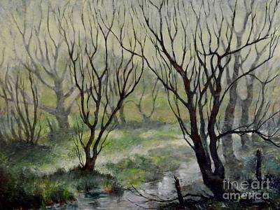 Painting - Spring Mist by Erin Byrd Bartholomew