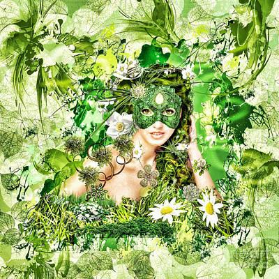 Lips Digital Art - Spring by Mo T