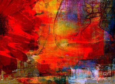 Mixed Media - Spring Moments by Fania Simon