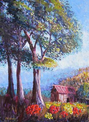 Painting - Spring Morning by Don Hutchison