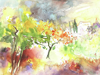 Painting - Spring On Planet Goodaboom by Miki De Goodaboom