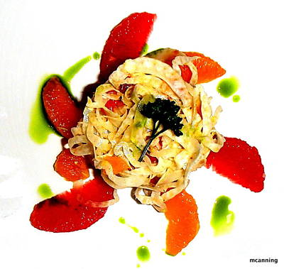 Photograph - Spring Pasta by Michael Canning