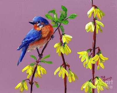 Art Print featuring the painting Spring by Pat Burns