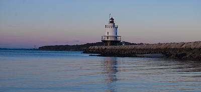 Photograph - Spring Point Ledge Lighthouse by Peggie Strachan