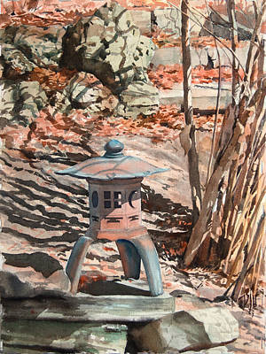 Painting - Spring Shadows by Peter Sit