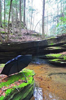 Landscape Digital Art - Spring Showers Vertical by Peter  McIntosh