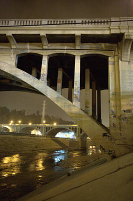 Photograph - Spring Street Bridge East Bank by Kevin  Break