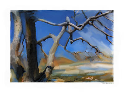 Early Spring Painting - Spring Thaw 1 by Bob Salo