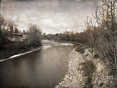 Photograph - Spring Thaw by Ellen Cotton