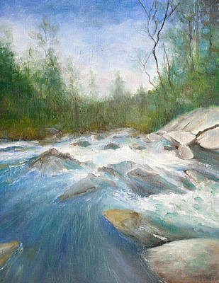 Painting - Spring Thaw by Max Mckenzie
