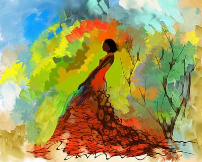 Digital Art - Spring Time by Parag Pendharkar