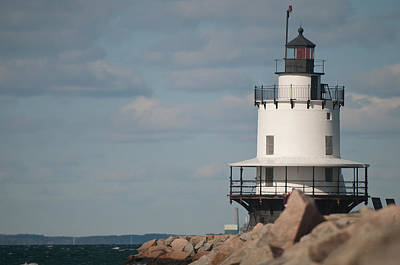 Photograph - Springpoint Ledge Lighthouse by Paul Mangold