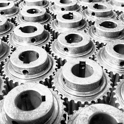 Gears Photograph - Sprockets by Scott Freeman